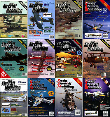 Scale Aircraft Modelling Magazine's *1979-2019* (2 DVDs) Aviation Modeller Fine