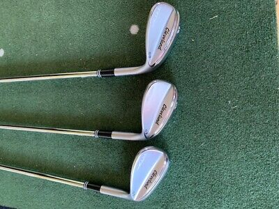 Cleveland RTX4 Wedges 50/10, 54/10 and 60/09 used