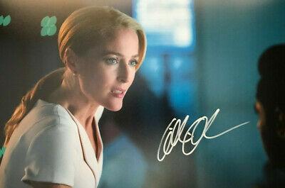 The Spy Who Dumped Me (Gillian Anderson) SIGNED PHOTO 12X8 WITH COA