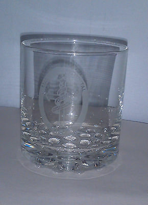 EXPO 88 Brisbane Mater Hospital dimpled base scotch whisky or spirit glass