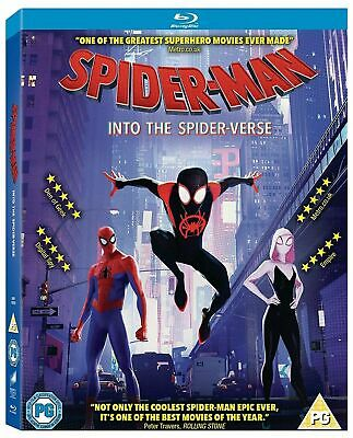 Spider-Man - Into the Spider-verse [Blu-ray] NEW (FREE P&P)