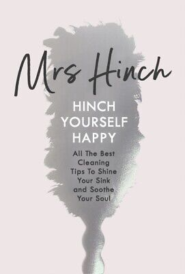 Hinch Yourself Happy: All The Best Cleaning Tips  by Mrs Hinch (HARBACK BOOK)NEW