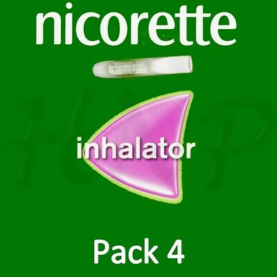 Nicorette 15mg Inhalator 36 Cartridges === Pack of 4 === Exp -- May  2022