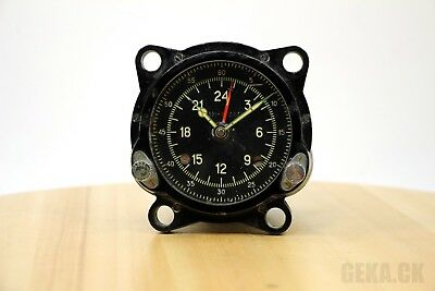 GOOD! 55M (129ChS) Russian Military AirForce Cockpit Clock of Tupolev Bomber US