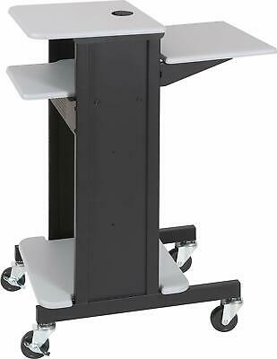 Balt Adjustable Presentation Cart 18w x 30d x 40-1/4h Black/Gray 89759  Ebay