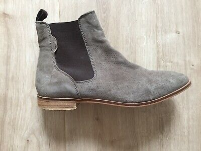 newest 27396 cf309 CHELSEA BOOTS COX grau taupe 40 39 Damen Stiefeletten ankle boots