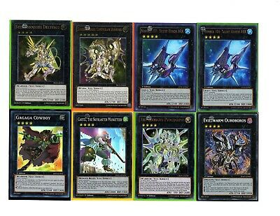 Yugioh -  75 Card Deck w/ Deck-Box Multiple Holos - All Cards Pictured & Sleeved