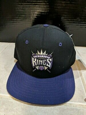 new concept f6b8e 04c99 Sacramento Kings Nba New Era Vintage Retro Adjustable Strap Cap Hat New W   Tags!