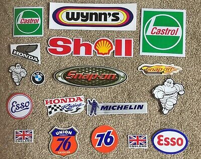 Snap - On Toolbox Graphics Decals Vinyl stickers Wynns Castrol Michelin  Honda
