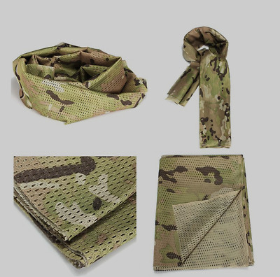TACTICAL SCRIM NET Military Scarf Combat Face Veil Army