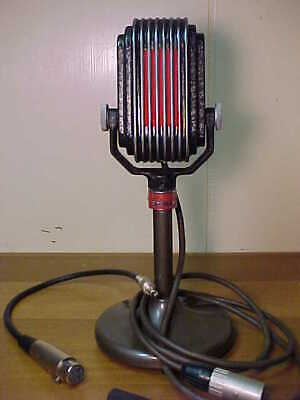 RARE ELECTRO-VOICE VINTAGE ANTIQUE MODEL K21 HiZ RIBBON MICROPHONE. WORKING FINE