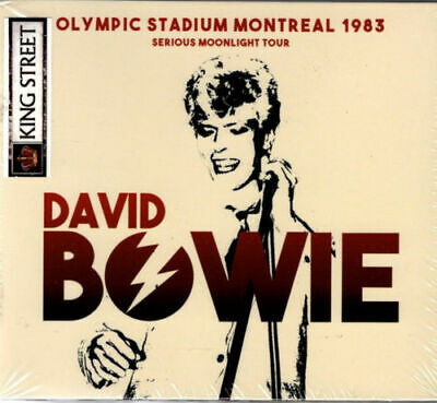 DAVID BOWIE - Olympic Stadium Montreal 1983 (2cd digipack release /New & sealed)