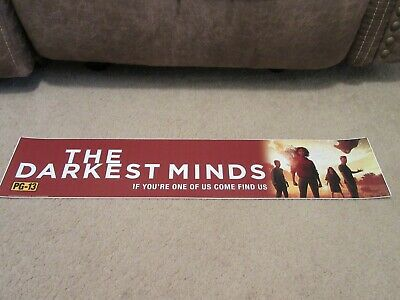 *** THE DARKEST MINDS [2018] *** S/S 5x25 [LARGE] MOVIE THEATER POSTER [MYLAR]
