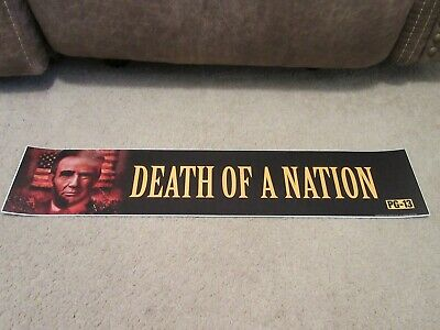 *** DEATH of a NATION [2018] *** S/S 5x25 [LARGE] MOVIE THEATER POSTER [MYLAR]