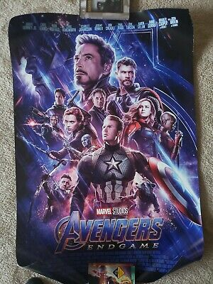 Avengers Endgame 27x40 Official Original Movie Theatrical DS One-Sheet Poster