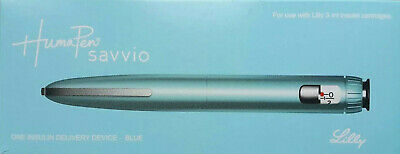 Humapen Savvio insulin delivery device - Blue