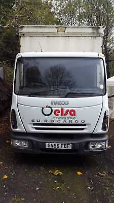 iveco euro cargo 7.5 ton curtain side waggon  lorry with tail lift  NO VAT