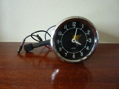 ROVER P4 1952 to 1959    Dashboard time clock.  NOS.   Very rare.