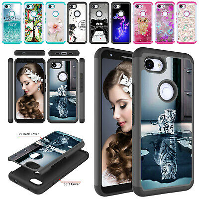 For Google Pixel 3a / 3a XL / 3 / 3 XL Phone Case Rugged Hybrid Protective Cover