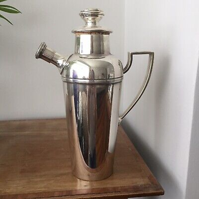 Vintage Mappin & Webb Silver Plated Cocktail Shaker c.1930