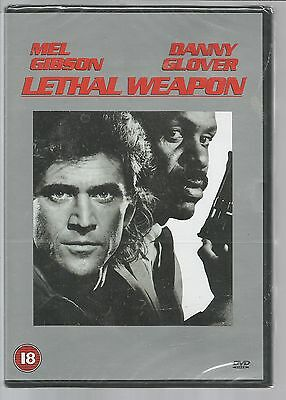 LETHAL WEAPON - Mel Gibson - UK REGION 2 DVD sealed/new