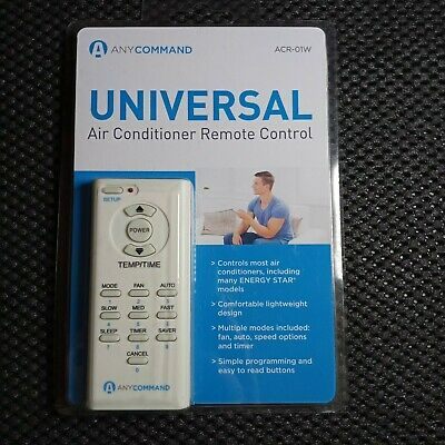Black AnyCommand ACR-01 Universal AC Remote Control for Window Air Conditioners