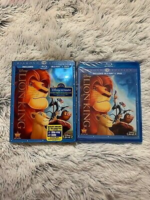 The Lion King (Blu-ray/DVD, 2011, 2-Disc Set, Diamond Edition) Brand new