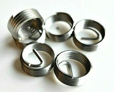 """Genuine Helicoil SS Free Running Inserts 3/4-16 x 3/8"""" Long .375L Fine TD 6 ea."""