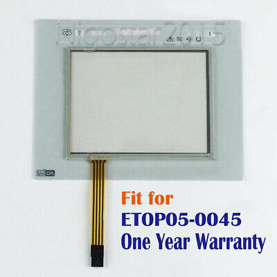 New for UNIOP ETOP05-0045 Touch Screen Panel + Protective Film One Year Warranty