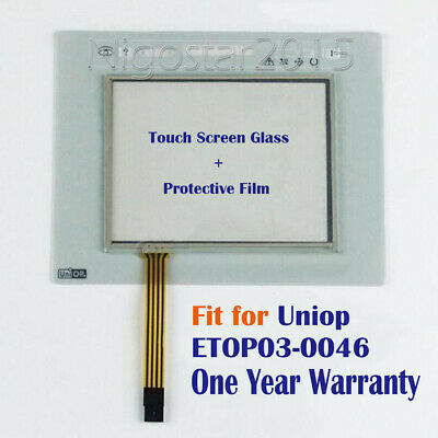 New for Uniop ETOP03-0046 Touch Screen Panel + Protective Film One Year Warranty