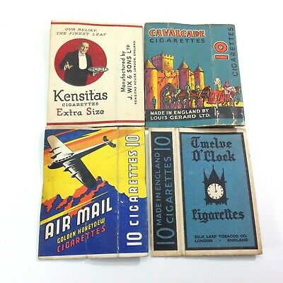 Lot of Vintage Cigarette Packets  Empty
