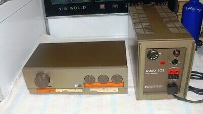 QUAD 33/303 Pre-Power Amplifier
