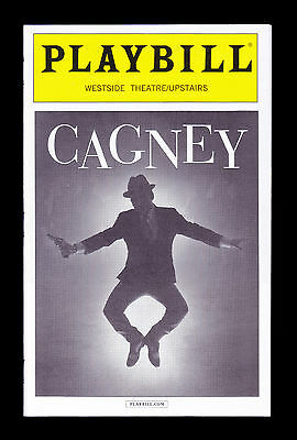 Playbill / Cagney / Robert Creighton / George M. Cohan / July 2016