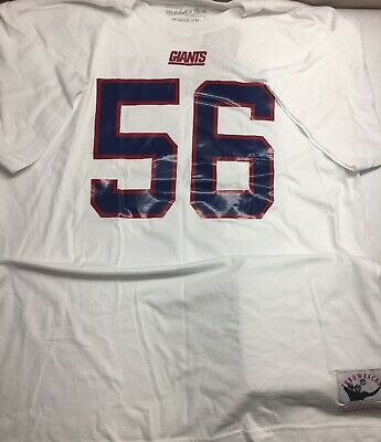 f01877aa NFL MITCHELL & NESS LAWRENCE TAYLOR NEW YORK GIANTS 1986 THROWBACK SHIRT  Mens XL