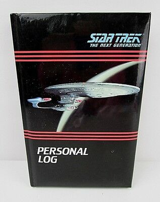 Vintage Star Trek The Next Generation Personal Log 1992 Lined Journal/Diary 8A