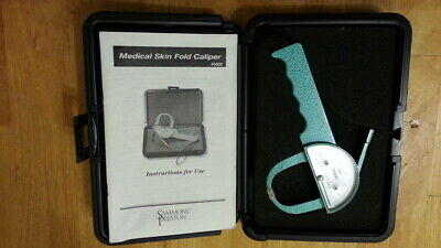 Jamar Medical Skin Fold Caliper w instruction booklet