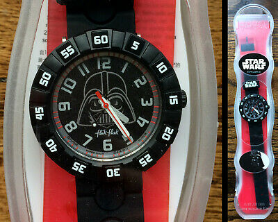 "Swatch Watch ft. ""Star Wars"" Darth Vader, for kids New"