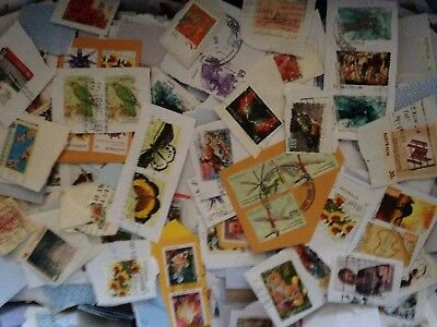 1kg of Mixed USED Australian Stamps Bulk Kiloware inc Quality Recent issues