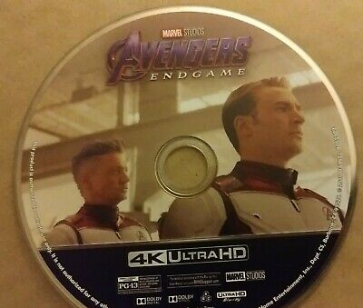 Avengers Endgame 4k disc only and E.T. BLURAY ONLY Slipcover Anniversary Edition