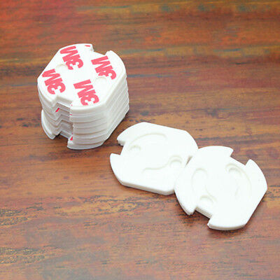 3pcs Baby Safety Rotate Cover 2 Hole Round European Standard Children#crf