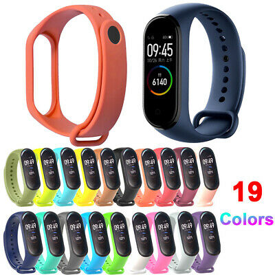 For Xiaomi Mi Band 4 3 Silicone Bracelet Strap Replacement Wristband Link Band