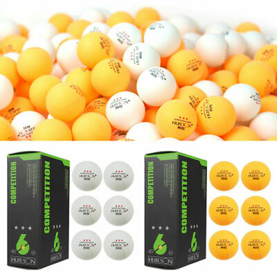 3-Stars 40mm High Quality Pro Table Tennis Balls Ping Pong Balls 6 Piece 2 Color