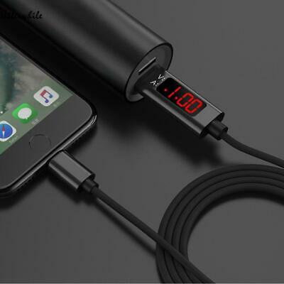 Voltage Current Display Type C/Micro USB Data Charging Cable For iPhone/ U8HE