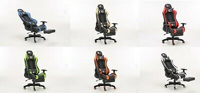 Neo Racing Reclining High Back Gaming Computer Racing Bucket Office Desk Chair
