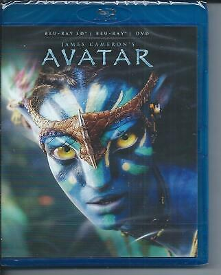 Blu Ray 3D + 2D + DVD : Avatar 3D + Version 2D - NEUF