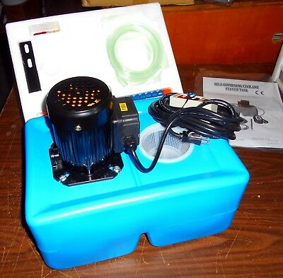 Accura Acps-009 Coolant Pump System-Stand Alone For Lathes, Mills, Saws Etc.