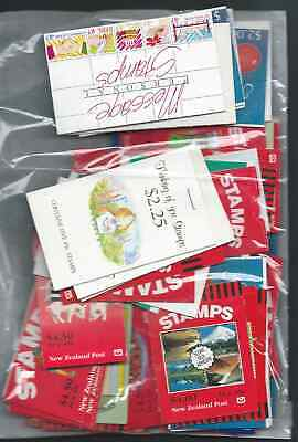 Postage  Good Lot Booklets Face Nz$225 Gb£ 117 Post Free Half Face Nice!