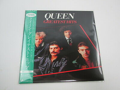 QUEEN GREATEST HITS P-6480E with OBI Japan VINYL  LP
