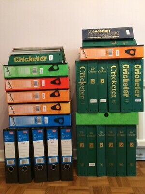 'The Cricketer' Magazine Collection.  Approx. 350 Editions. Between 1958 & 2008