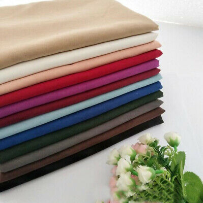 DIY Plain Faux Suede Fabric Thicken Soft Wide 150cm(59inch) Dressmaking Fabric